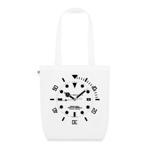 Submarine Luxury Watch Dial Details - EarthPositive Tote Bag