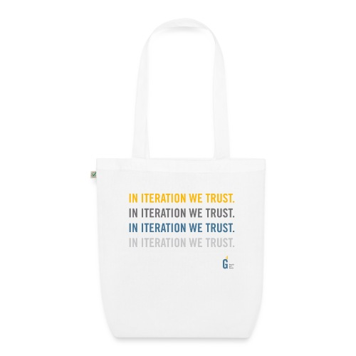 In iteration we trust II - EarthPositive Tote Bag