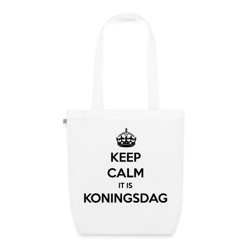 KEEP CALM IT IS KONINGSDAG - Bio stoffen tas