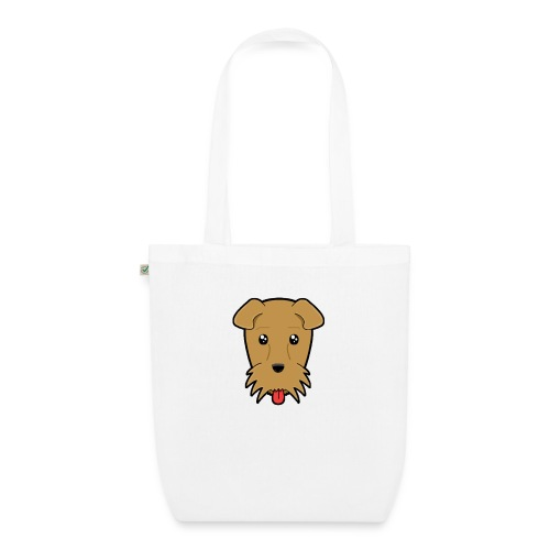 Shari the Airedale Terrier - EarthPositive Tote Bag