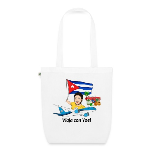 Cuba - Viaja con Yoel - Bolsa de tela ecológica