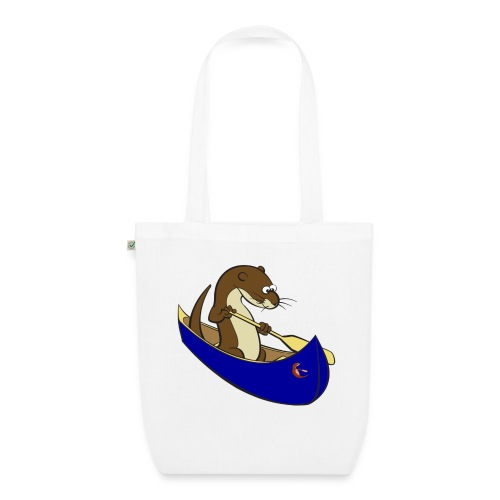 bluecanoewithsticker - EarthPositive Tote Bag