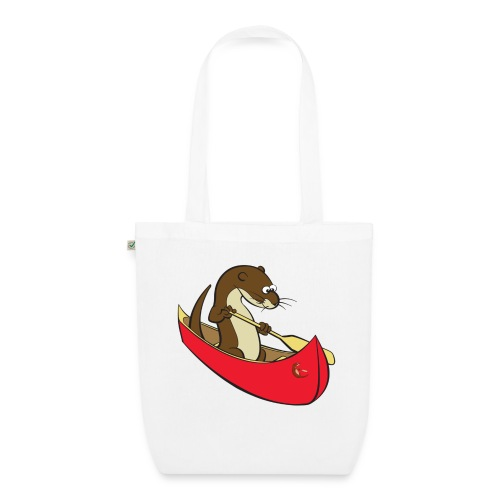 redcanoewithsticker - EarthPositive Tote Bag