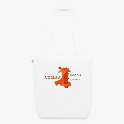 Cymru - Latitude / Longitude - EarthPositive Tote Bag