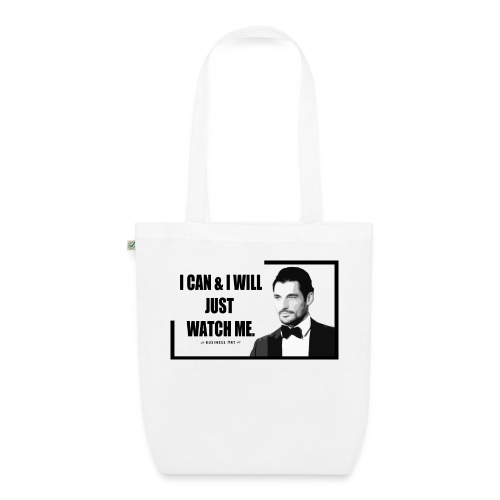 I can i will just watch me - Borsa ecologica in tessuto