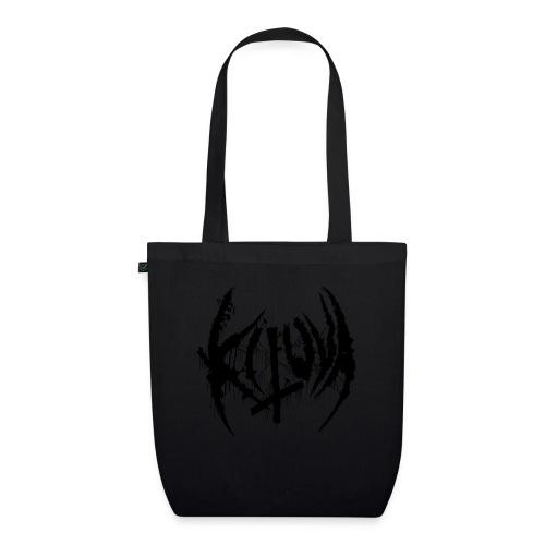 Kituva black logo - Luomu-kangaskassi