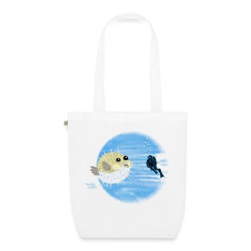 Puffer fish - T-shirts - Sac en tissu biologique