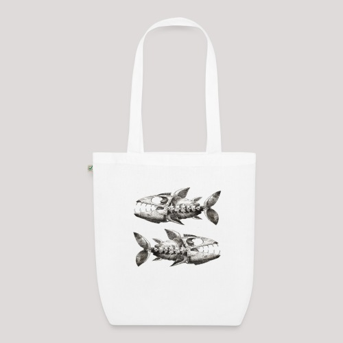 FishEtching - EarthPositive Tote Bag