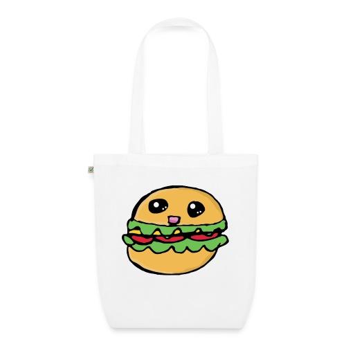 Hamburger kawai - Sac en tissu biologique