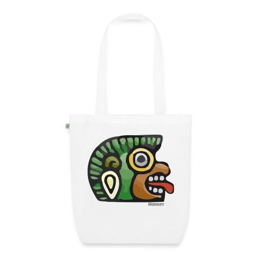 Aztec Icon Monkey - EarthPositive Tote Bag