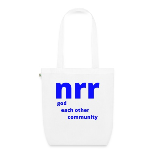 NEARER logo - EarthPositive Tote Bag