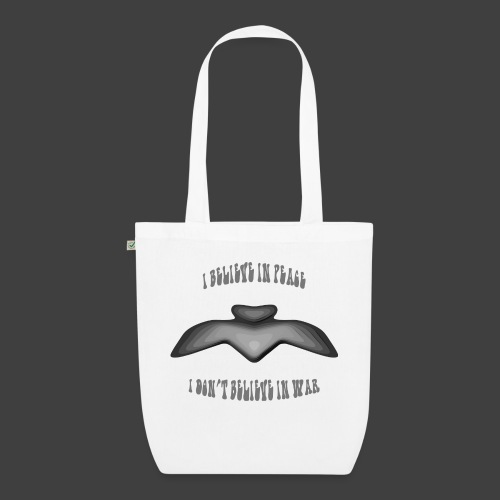 I believe in peace 4 png - EarthPositive Tote Bag