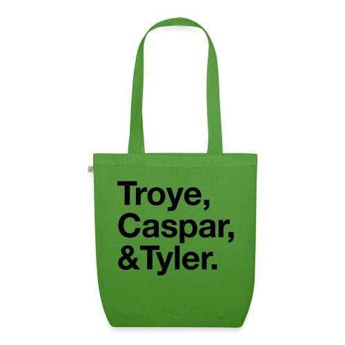 TROYE CASPAR AND TYLER - YOUTUBERS - Borsa ecologica in tessuto
