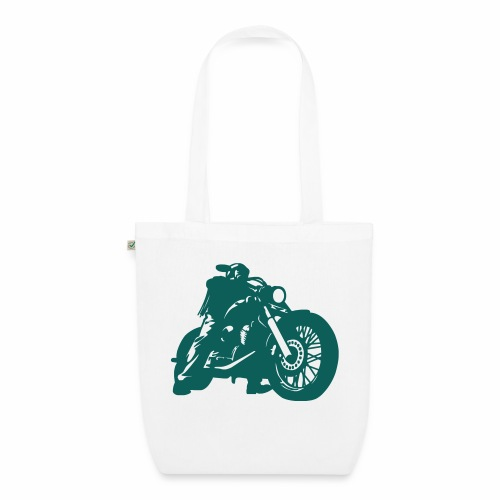 born to ride - EarthPositive Tote Bag