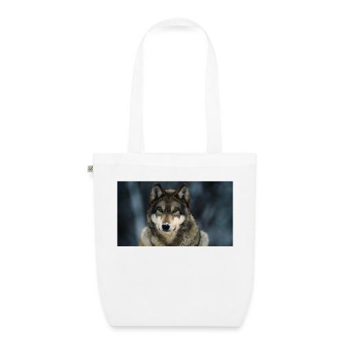 wolf shirt kids - Bio stoffen tas
