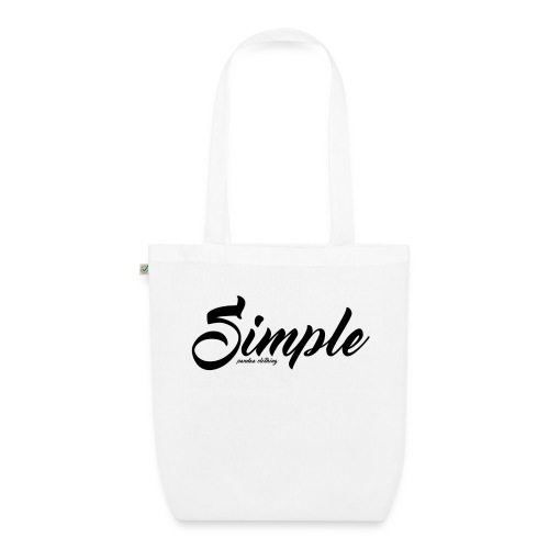 Simple: Clothing Design - EarthPositive Tote Bag
