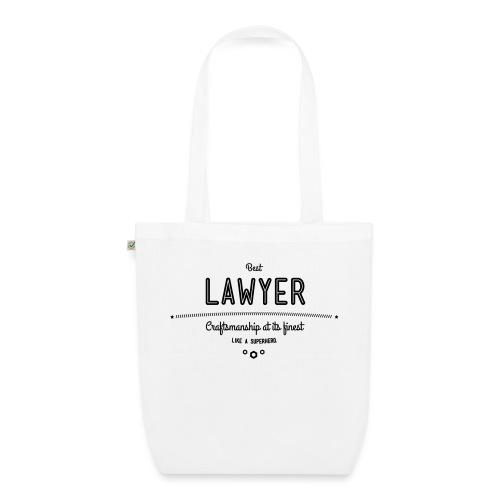 Bester Anwalt - wie ein Superheld - Bio-Stoffbeutel