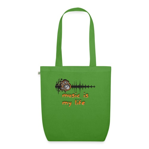 Music is my Life - Borsa ecologica in tessuto