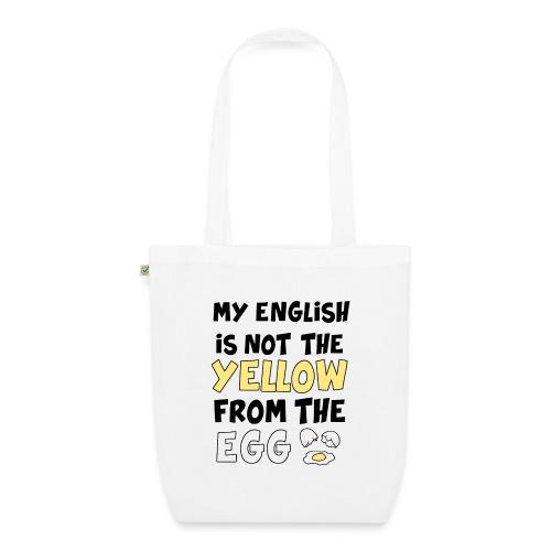 Schlechtes Englisch Witz Typografie - Bio-Stoffbeutel
