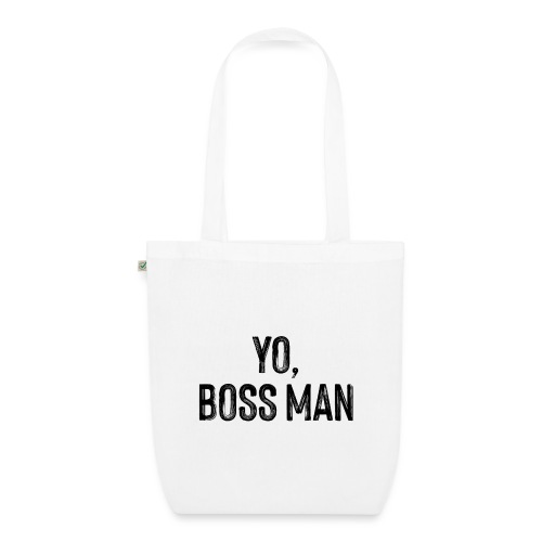 Yo BossMan - LDN Roads Collection - BLK - EarthPositive Tote Bag