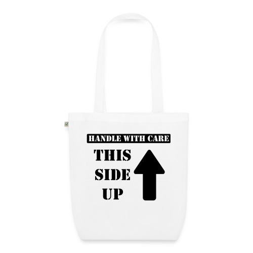 Handle with care / This side up - PrintShirt.at - Bio-Stoffbeutel