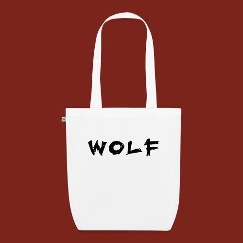 Wolf Font png - Bio stoffen tas
