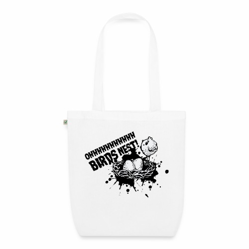 Birds Nest With Bird - EarthPositive Tote Bag