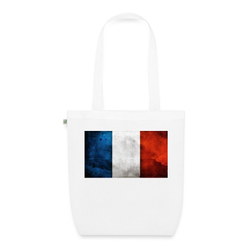 France Flag - EarthPositive Tote Bag