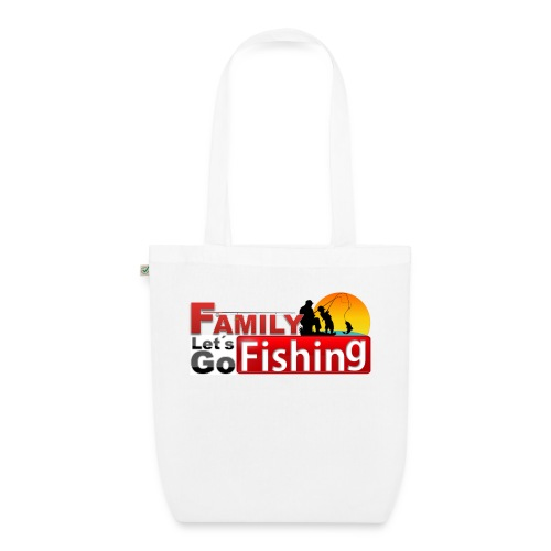 FAMILY LET'S GO FISHING FUND - EarthPositive Tote Bag