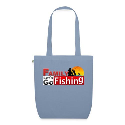 FAMILY LET´S GO FISHING FONDO - Bolsa de tela ecológica