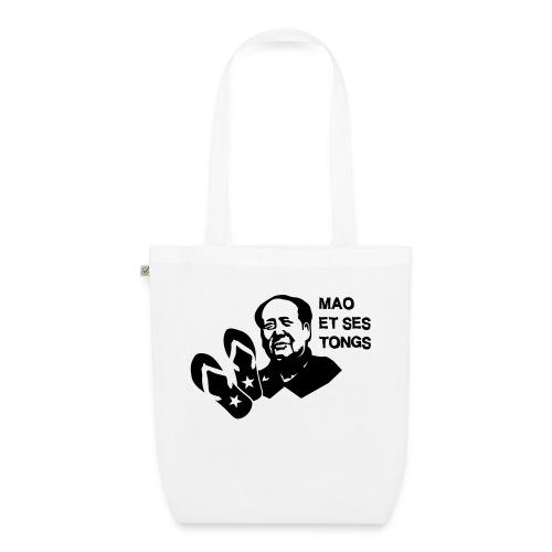 MAO et ses tongs - Sac en tissu biologique