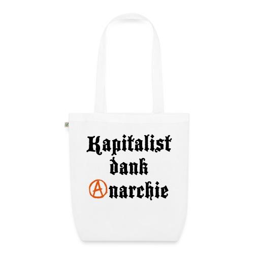 Kapitalist Dank Anarchie - Bio-Stoffbeutel