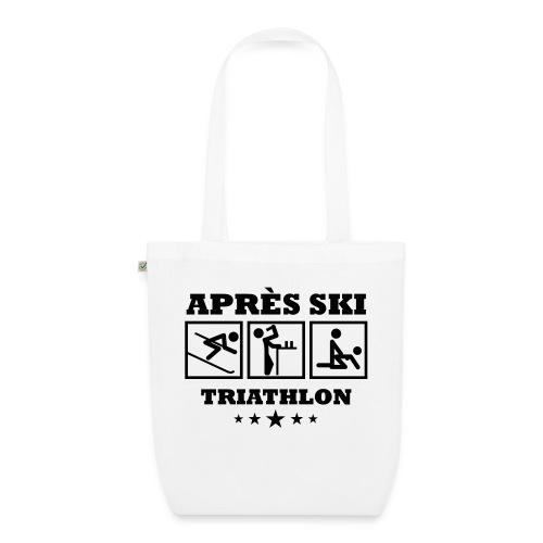 Apres Ski Triathlon | Apreski-Shirts gestalten - Bio-Stoffbeutel