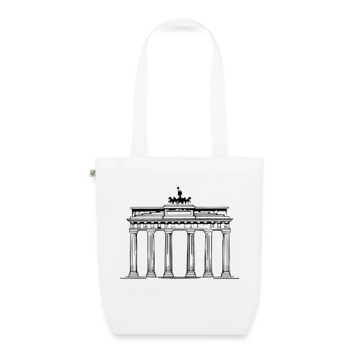 Brandenburger Tor Berlin Victoria Streitwagen - Bio-Stoffbeutel