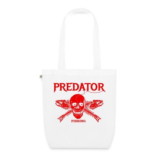Predator fishing red - Bio-Stoffbeutel