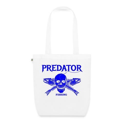 Predator fishing blue - Bio-Stoffbeutel