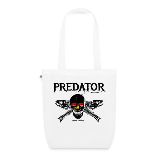 predator fishing / gone fishing - Bio-Stoffbeutel
