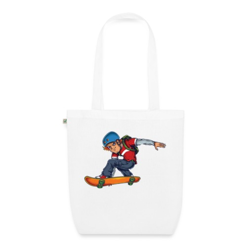 Skater - EarthPositive Tote Bag