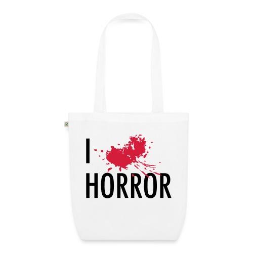 Love horror blood sangue - Borsa ecologica in tessuto