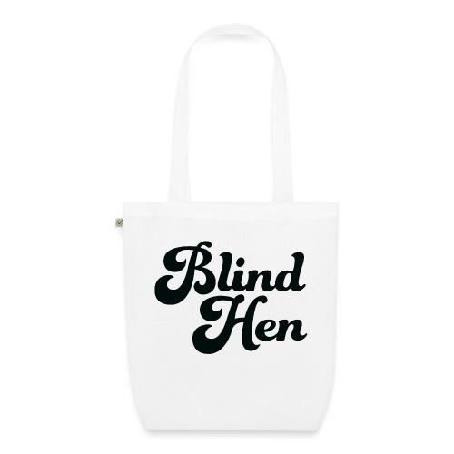 Blind Hen - Logo T-shirt premium, green. - EarthPositive Tote Bag