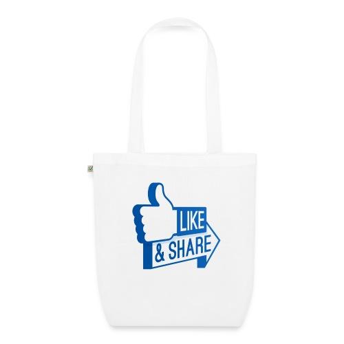 Like & Share (Facebook) - Borsa ecologica in tessuto