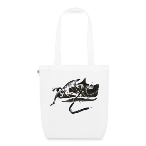 shoe (Saw) - EarthPositive Tote Bag