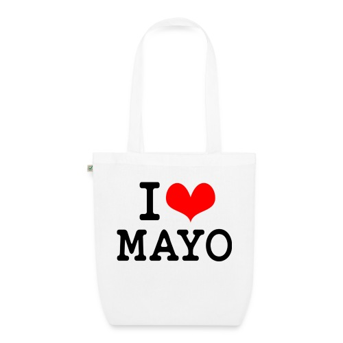 I Love Mayo - EarthPositive Tote Bag