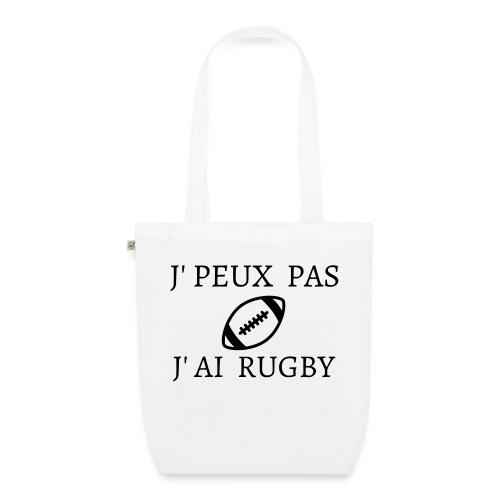 J'peux pas J'ai rugby - Sac en tissu biologique