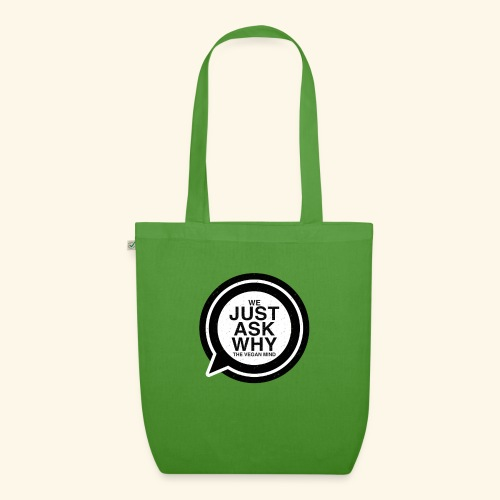 WE JUST ASK WHY - The Vegan Mind - EarthPositive Tote Bag