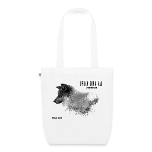 dog black - Bio-Stoffbeutel