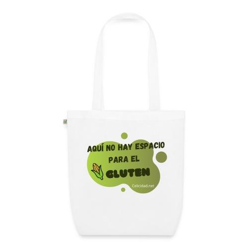Aquí no hay espacio para el gluten - Bolsa de tela ecológica