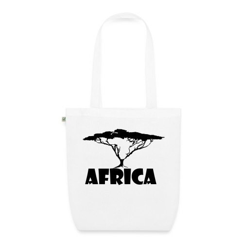 Africa Continent Tree - EarthPositive Tote Bag