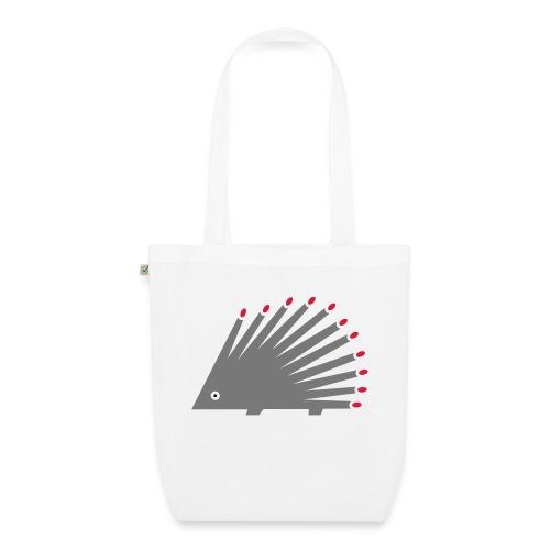 Hedgehog - EarthPositive Tote Bag