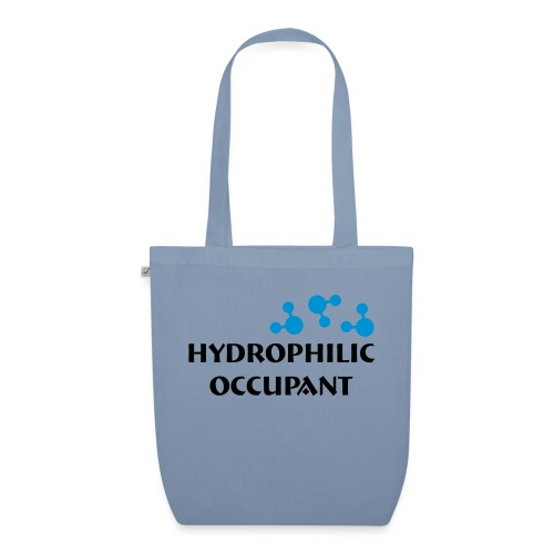 Hydrophilic Occupant (2 colour vector graphic) - EarthPositive Tote Bag